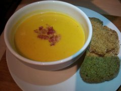 Pumpkin and Panchetta Soup