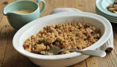 Spiced Apple Crumble