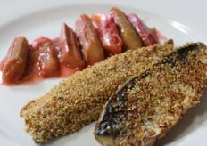 Mackerel Oatmeal Rhubarb