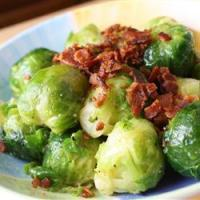 Brussels Sprouts with Panchetta