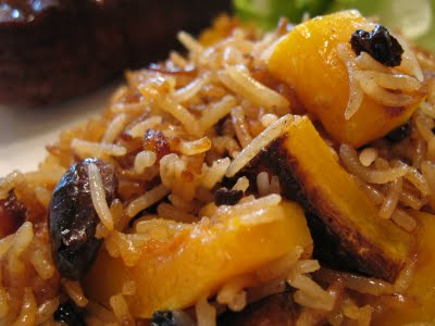 Jewelled Pumpkin Rice