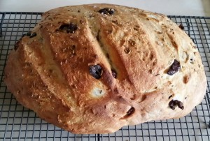 Roasted Fennel & Olive Bread