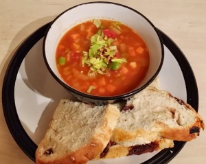 North African Chickpea Soup