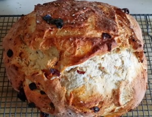 Sun Dried Tomato and Olive Bread