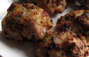 Pork Pancetta Stuffing Balls